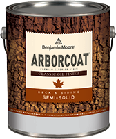 Arborcoat® Semi Solid Classic Oil Finish